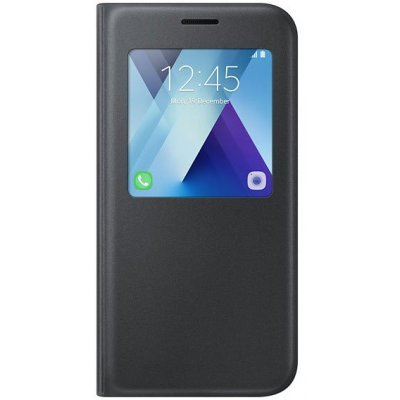 Чехол для смартфона Samsung Galaxy A5 (2017) SM-A520F черный (EF-CA520PBEGRU) (EF-CA520PBEGRU) чехол клип кейс samsung protective standing cover great для samsung galaxy note 8 темно синий [ef rn950cnegru]