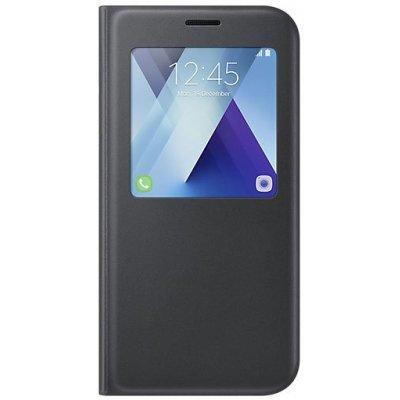 Чехол для смартфона Samsung Galaxy A7 (2017) SM-A720F (EF-CA720PBEGRU)Чехлы для смартфонов Samsung<br>Чехол (флип-кейс) Samsung для Samsung Galaxy A7 (2017) S View Standing Cover черный (EF-CA720PBEGRU)<br>