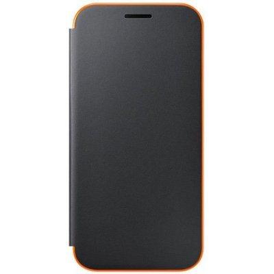 Чехол для смартфона Samsung Galaxy A3 (2017) SM-A320F черный (EF-FA320PBEGRU) (EF-FA320PBEGRU) чехол для сотового телефона takeit для samsung galaxy a3 2017 metal slim металлик