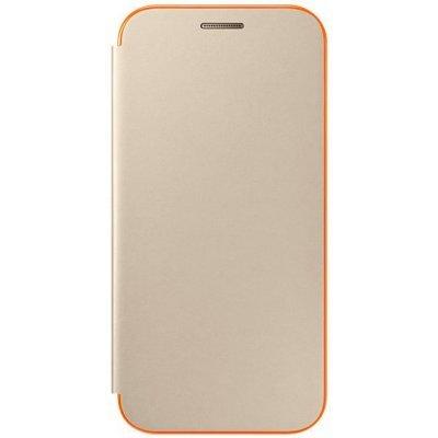 Чехол для смартфона Samsung Galaxy A3 (2017) SM-A320F золотистый (EF-FA320PFEGRU) (EF-FA320PFEGRU)