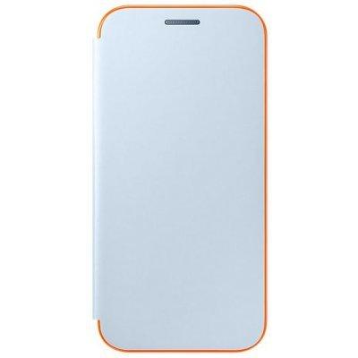 Чехол для смартфона Samsung Galaxy A3 (2017) SM-A320F синий (EF-FA320PLEGRU) (EF-FA320PLEGRU)Чехлы для смартфонов Samsung<br>Чехол (флип-кейс) Samsung для Samsung Galaxy A3 (2017) Neon Flip Cover синий (EF-FA320PLEGRU)<br>