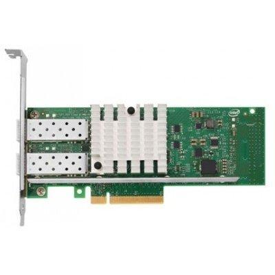 Сетевая карта для сервера Lenovo Intel X520 Dual Port 10GbE SFP+ Adapter (49Y7960) (49Y7960) адаптер dell x710 intel dual port 10gb sfp 540 bbiv