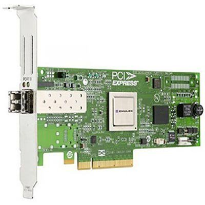 Контроллер Fibre Channel Lenovo Emulex 8Gb FC Single-port HBA for SystemX (42D0485) (42D0485)Контроллеры Fibre Channel Lenovo<br>Контроллер Emulex 8Gb FC Single-port HBA for SystemX<br>