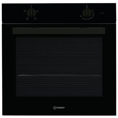 Электрический духовой шкаф Indesit IFW 6220 BL черный (IFW 6220 BL)Электрические духовые шкафы Indesit<br>электрическая независимая духовка<br>59.5 х 59.5 x 55.1 см<br>поворотные переключатели<br>гриль<br>