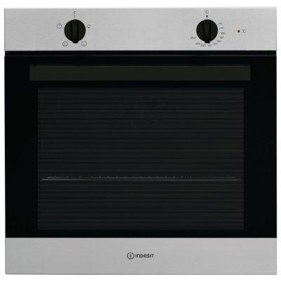 Электрический духовой шкаф Indesit IFW 6220 IX серебристый (IFW 6220 IX)Электрические духовые шкафы Indesit<br>электрическая независимая духовка<br>59.5 х 59.5 x 55.1 см<br>поворотные переключатели<br>гриль<br>