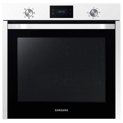Электрический духовой шкаф Samsung NV75K3340RW белый (NV75K3340RW/WT)Электрические духовые шкафы Samsung<br>электрическая независимая духовка<br>59.5 х 59.5 x 56.6 см<br>утапливаемые переключатели<br>класс энергопотребления: A<br>сенсорный дисплей<br>телескопические направляющие<br>конвекция<br>гриль<br>защита от детей<br>