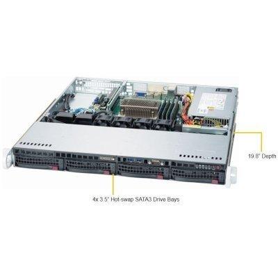 Серверная платформа SuperMicro SYS-5019S-MT (SYS-5019S-MT) платформа supermicro sys 5019s m2 raid 1x350w
