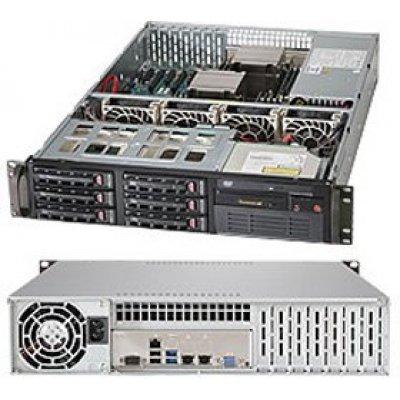 Серверная платформа SuperMicro SYS-6028R-TT (SYS-6028R-TT)Серверные платформы SuperMicro<br>Серверная платформа 2U SATA BLACK SYS-6028R-TT SUPERMICRO<br>