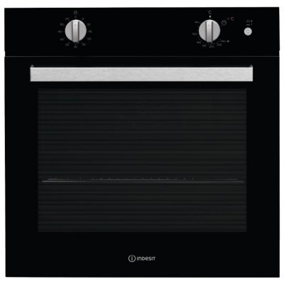 Газовый духовой шкаф Indesit IGW 620 BL черный (IGW 620 BL)Газовые духовые шкафы Indesit<br>газовая независимая духовка<br>59.5 х 59.5 x 55.1 см<br>поворотные переключатели<br>гриль<br>
