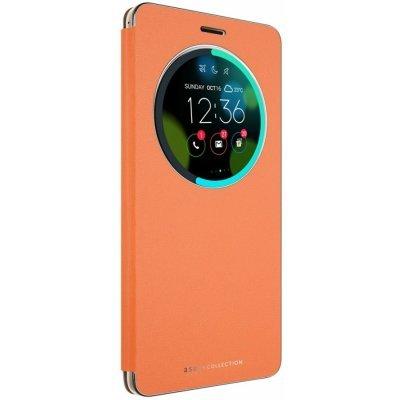 Чехол для смартфона ASUS ZenFone 3 Deluxe ZS570KL оранжевый (90AC01E0-BCV008) (90AC01E0-BCV008) сотовый телефон asus zenfone 3 deluxe zs570kl 64gb gold
