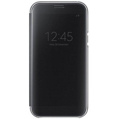 Чехол для смартфона Samsung Galaxy A7 (2017) SM-A720F черный (прозрачный) (EF-ZA720CBEGRU) (EF-ZA720CBEGRU)Чехлы для смартфонов Samsung<br>Чехол (флип-кейс) Samsung для Samsung Galaxy A7 (2017) Clear View Cover черный (прозрачный) (EF-ZA720CBEGRU)<br>