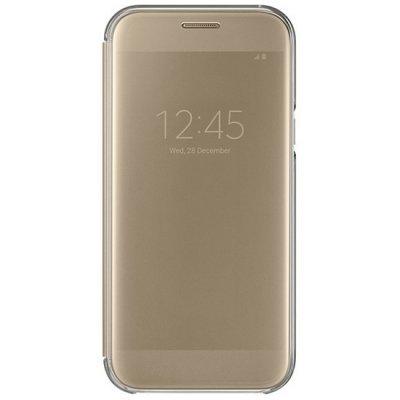 Чехол для смартфона Samsung Galaxy A7 (2017) SM-A720F золотистый (EF-ZA720CFEGRU) (EF-ZA720CFEGRU)