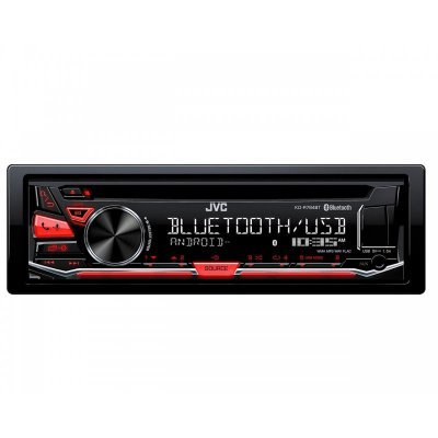 Автомагнитола JVC KD-R784BT (KD-R784BT) автомагнитола kenwood kmm 124 usb mp3 cd fm rds 1din 4х50вт черный