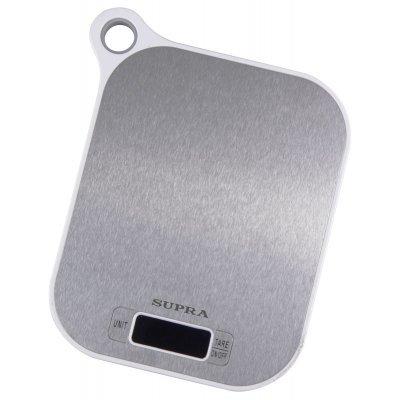 Весы кухонные Supra BSS-4077 белый (10954) весы supra bss 5601 bss 5601