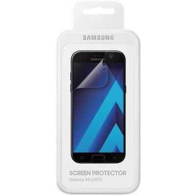 Пленка защитная для смартфонов Samsung ET-FA520CTEGRU для Galaxy A5 (2017) SM-A520F (ET-FA520CTEGRU) защитная пленка samsung et fa320ctegru для samsung galaxy a3 2017 прозрачная 1 шт