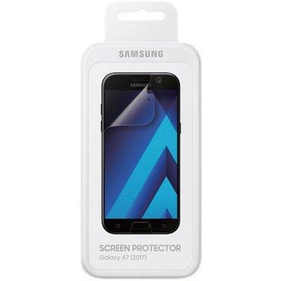 Пленка защитная для смартфонов Samsung ET-FA720CTEGRU для Galaxy A7 (2017) SM-A720F (ET-FA720CTEGRU)
