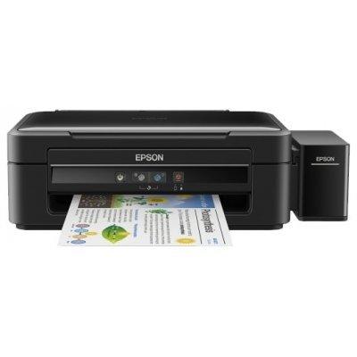 Цветной струйный МФУ Epson L382 (C11CF43401) принтер epson l312 струйный цвет черный [c11ce57403]