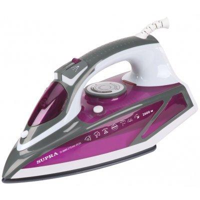 Утюг Supra IS-2605 фиолетовый/белый (10999)Утюги Supra<br>Утюг Supra IS-2605 2600Вт фиолетовый/белый<br>