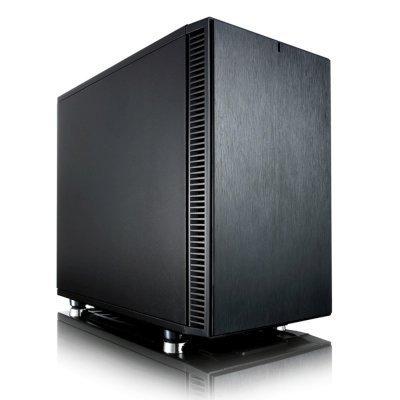 Корпус системного блока Fractal Design Define Nano S черный без БП (FD-CA-DEF-NANO-S-BK) корпус matx fractal design define mini c tg mini tower без бп черный
