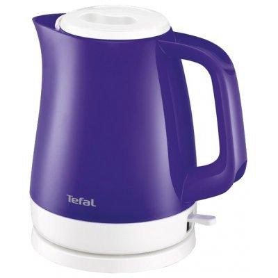 Электрический чайник Tefal KO 1516 Delfini Vision фиолетовый (7211002331) чайник электрический tefal ko260130 2400вт белый и черный