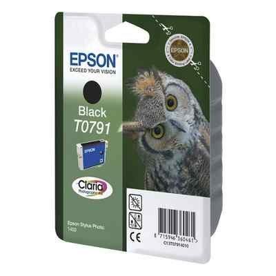 Картридж для струйных аппаратов Epson C13T07914010 черный для Stylus Photo 1500W,A3 (C13T07914010)Картриджи для струйных аппаратов Epson<br>Картридж струйный Epson C13T07914010 черный для Epson Stylus Photo 1500W,A3<br>