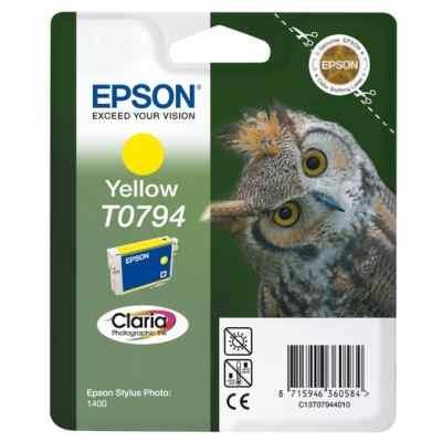 Картридж для струйных аппаратов Epson C13T07944010 желтый для Stylus Photo 1500W,A3 (C13T07944010) the hobbit notebook gift diary note book agenda planner material escolar caderno office stationery supplies gt104