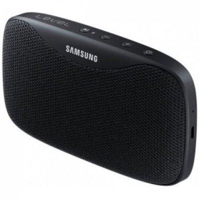 Портативная акустика Samsung LEVEL Box Slim EO-SG930 черный (EO-SG930CBEGRU)Портативная акустика Samsung<br>Колонки Samsung LEVEL Box Slim EO-SG930 2.0 черный 20Вт беспроводные BT<br>