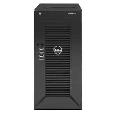 Сервер Dell PowerEdge T20 (210-ACCE-102T) (210-ACCE-102T)Серверы Dell<br>Dell PowerEdge T20 Tower/ E3-1225v3 4C 3.2GHz(8Mb)/ 8Gb(2x4Gb UDIMM 1600)/ On-board C226 SATA(2x3Gb/s+2x6Gb/s) RAID0/1/ 2x500Gb SATA 7,2k/ UpTo4LFF NHP/ UpTo2SFF NHP/noDVD/1xGE/PS290W/1YBWNBD<br>