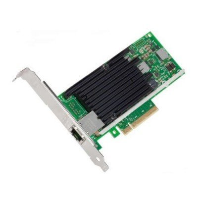 Сетевая карта для сервера Intel 1xRG45 10Gb/s PCI-E 2.1x8 Low Profile (X540T1BLK 927235) сетевая карта dell x540 dp 10gb bt i350 dp 1gb 540 11137 1