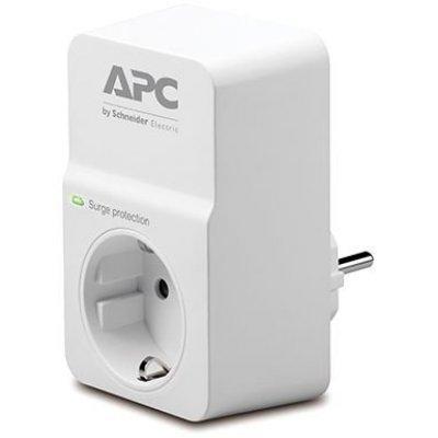 Сетевой фильтр APC PM1W-RS 1 розетка белый (PM1W-RS) сетевой фильтр apc pm8 rs белый 8 розеток 2 м
