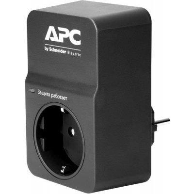 Сетевой фильтр APC PM1WB-RS 1 розетка черный (PM1WB-RS)