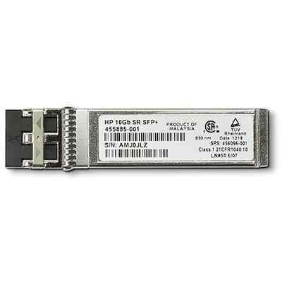Трансивер HP 455885-001 10Gb SR SFP+ (455885-001)Трансиверы HP<br>Трансивер HPE 455885-001 10Gb SR SFP+<br>