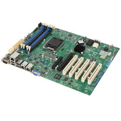 Материнская плата сервера SuperMicro MBD-X10SLA-F-B (MBD-X10SLA-F-B) материнская плата серверная