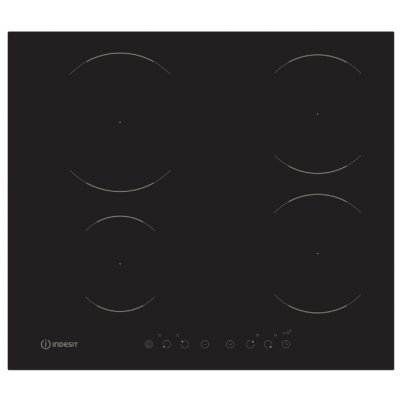 все цены на  Электрическая варочная панель Indesit VIA 640 0 C черный (VIA 640 0 C)  онлайн