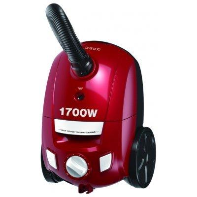 Пылесос Daewoo RGJ-210R красный (RGJ-210R)Пылесосы Daewoo<br>пылесос<br>сухая уборка<br>с мешком для сбора пыли<br>26.7x38.2x26.5 см, 4.70 кг<br>пылесборник на 2 л<br>мощность всасывания 210 Вт<br>работа от сети<br>потребляемая мощность 1600 Вт<br>