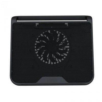 Подставка для ноутбука DeepCool N280 (N280)Подставки для ноутбука DeepCool<br>Теплоотводящая подставка под ноутбук DeepCool N280 (до 15,6, вентилятор 140мм, USB)<br>