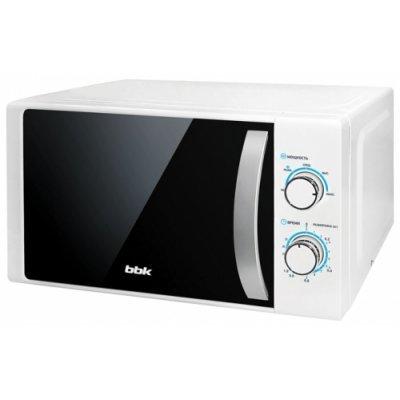 Микроволновая печь BBK 20MWS-711M/WS белый/серебро (Микроволновая печь BBK 20MWS-711M/WS белый/серебро) микроволновая печь hansa amg 20 bfh