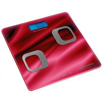 Весы Redmond RS-738 красный (RS-738 red)Весы Redmond<br>электронные напольные весы<br>стеклянная платформа<br>нагрузка до 180 кг<br>очень точное измерение<br>запоминание данных пользователя<br>автовключение, автовыключение<br>подсветка символов дисплея<br>