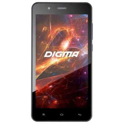 Смартфон Digma Vox S504 3G черный (VS5016PG black) планшет digma plane 1601 3g ps1060mg black
