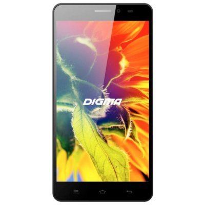 Смартфон Digma S505 3G Vox 8Gb черный (VS5017MG black) digma vox s502 3g