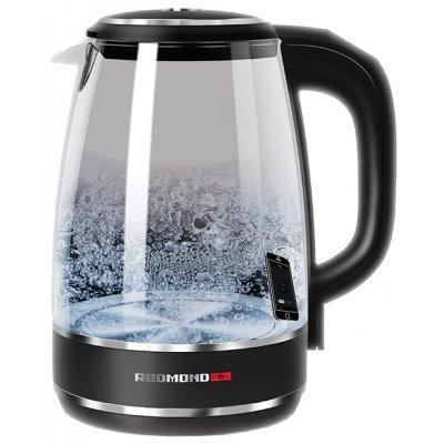 Электрический чайник Redmond RK-G200S черный (RK-G200S) чайник электрический rolsen rk 2723p синий page 2