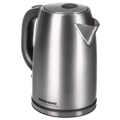 Электрический чайник Redmond RK-M182 серебристый (RK-M182)Электрические чайники Redmond<br>чайник<br>объем 1.8 л<br>мощность 2200 Вт<br>закрытая спираль<br>установка на подставку в любом положении<br>стальной корпус<br>индикация включения<br>вес 1 кг<br>