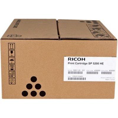Тонер-картридж для лазерных аппаратов Ricoh тип SP 5200HE (821229)Тонер-картриджи для лазерных аппаратов Ricoh<br>Емкость - 25 000 отпечатков Aficio SP 5200S/5210SF/5210SR/ SP 5200DN/5210DN<br>