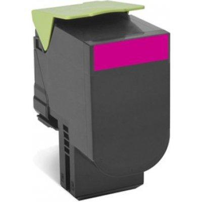 Тонер-картридж для лазерных аппаратов Lexmark для CS510de, CS510dte, 4 тыс. стр. (708XME Magenta Extra High Yield Toner Cartridge) (70C8XME) magic time подарочный пакет снегурочка с малышом 26 32 4 12 7 см