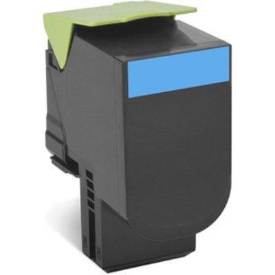 Тонер-картридж для лазерных аппаратов Lexmark для CS510de, CS510dte, 4 тыс. стр. (708XCE Cyan Extra High Yield Toner Cartridge) (70C8XCE) compatible lexmark ms310 toner chip for lexmark ms 312 315 printer toner chip for lexmark ms312dn ms315dn refill toner chip 5k