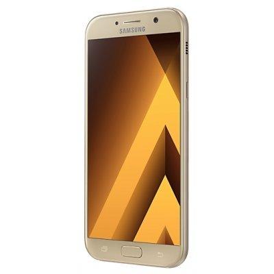 Смартфон Samsung Galaxy A7 (2017) SM-A720F 32Gb золотистый (SM-A720FZDDSER)