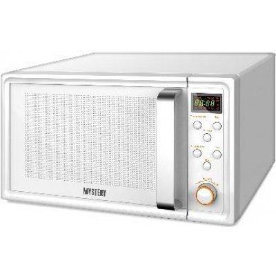 Микроволновая печь Mystery MMW-2031 белый (MMW-2031)Микроволновые печи Mystery<br>Микроволновая Печь Mystery MMW-2031 20л. 800Вт белый<br>