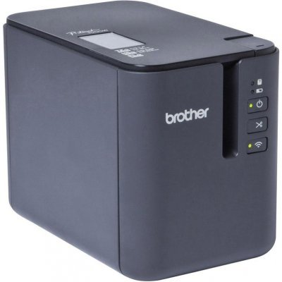 Принтер этикеток Brother PTP-900W светло-серый/черный (PTP900WR1)Принтеры этикеток Brother<br>Принтер Brother PTP-900W стационарный светло-серый/черный<br>