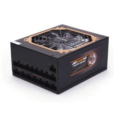 Блок питания ПК ZALMAN ZM1200-EBT 1200W (ZM1200-EBT) блок питания zalman 1000w zm1000 ebt v2 3 a pfc 80 plus gold fan 14 cm fully modular retail