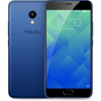 Смартфон Meizu M5 16Gb синий (M611H_16GB_Blue)Смартфоны Meizu<br>смартфон, Android 6.0<br>поддержка двух SIM-карт<br>экран 5.2, разрешение 1280x720<br>камера 13 МП, автофокус, F/2.2<br>память 16 Гб, слот для карты памяти<br>3G, 4G LTE, LTE-A, Wi-Fi, Bluetooth, GPS, ГЛОНАСС<br>объем оперативной памяти 2 Гб<br>аккумулятор 3070 мА/ч<br>вес 138 г, ШxВxТ 72.80x147.20x8 мм<br>